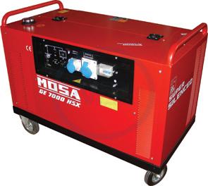 Mosa GE 7000 HSX-EAS Generating Set 230 volt