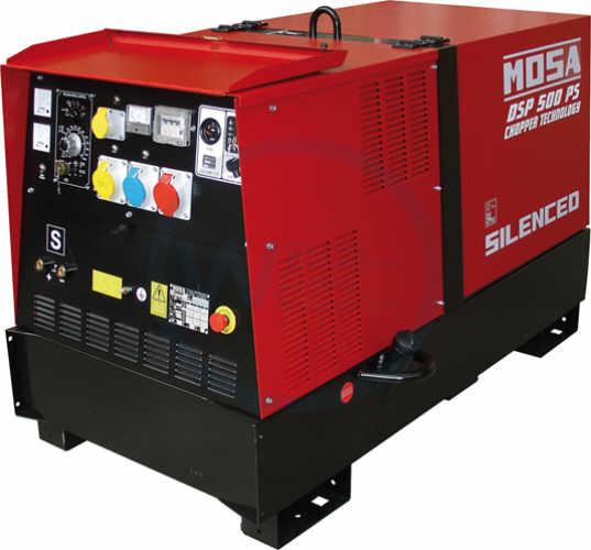 Mosa DSP 500 PS/EL-VRD Welding Generator water cooled