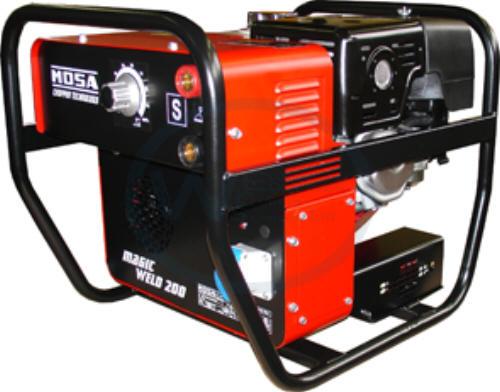 Mosa Magic Weld 200 Welding Generator & Welding Leads