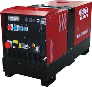 Mosa GE 35 PSX-EAS Generating Set 400/230 volt