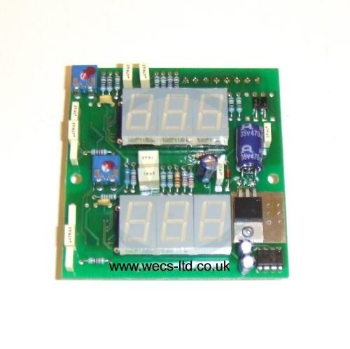 W000232578 Oerlikon DV4004 Amp/Volt PCB C.E.22647