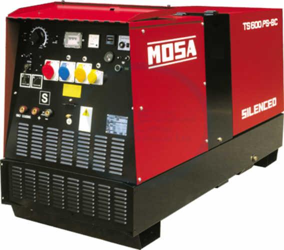 Mosa DSP 600 PS/EL diesel Multiprocess Welding Generator