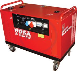 Mosa GE 7500 HSX-EAS Generating Set 400/230 volt