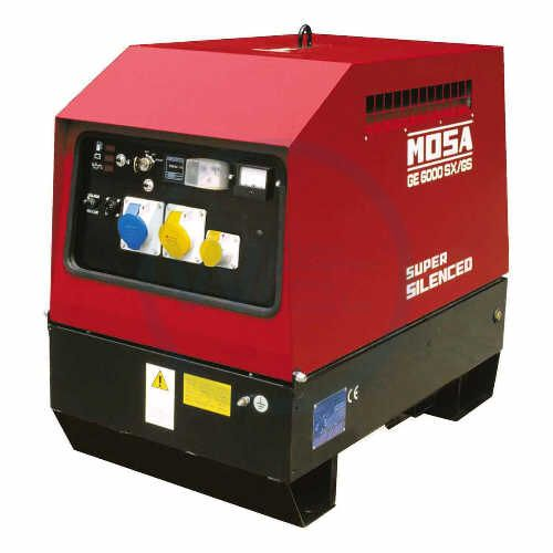 Mosa GE 6000 SX/GS-EAS Generating Set diesel