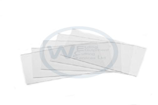 5 x Optrel Clear Inside Cover lens e680, e670, e650, p550 & p530