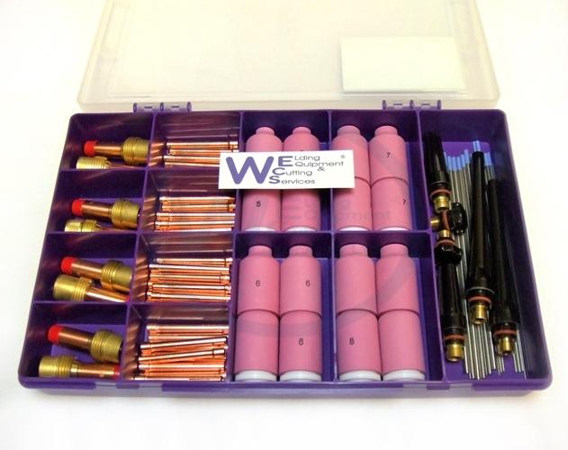 Obróbka metali i ślusarstwo WP26 & WP18W Tig Welding Torches Gas Lens For WP17